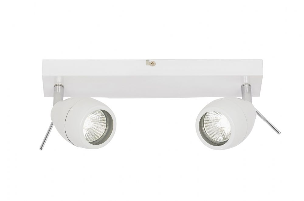 0.1) Ip44 Two Light Spotlight BXEL-20094-17 (Class 2 Double Insulated)